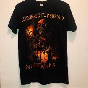 Avenged Sevenfold Nightmare Halloween Band T Shirt